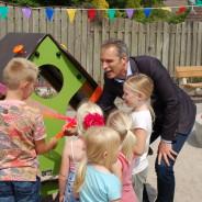 Opening speeltuin Laagveld