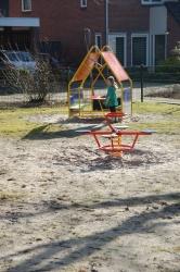 Klim- en speelhuisje